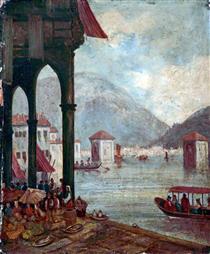 Lake Como, Italy - Вільям Лейтон Лейтч