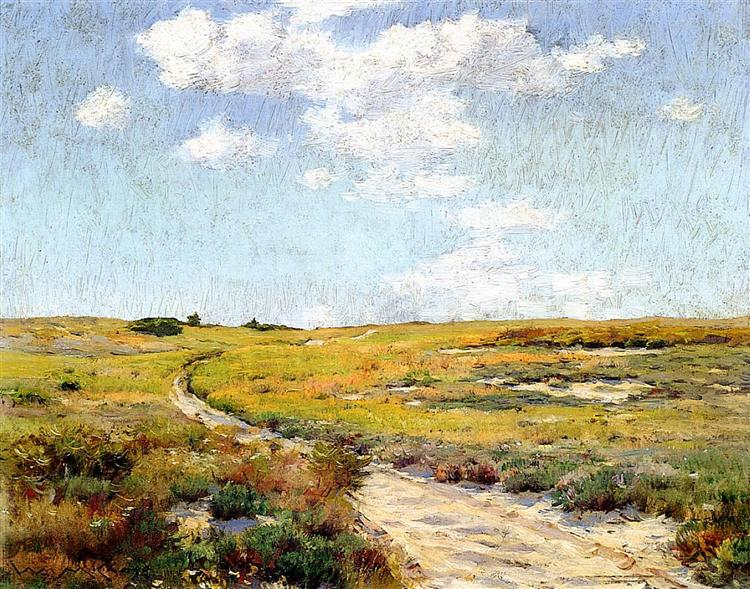 A Sunny Afternoon, Shinnecock Hills, 1898 - William Merritt Chase