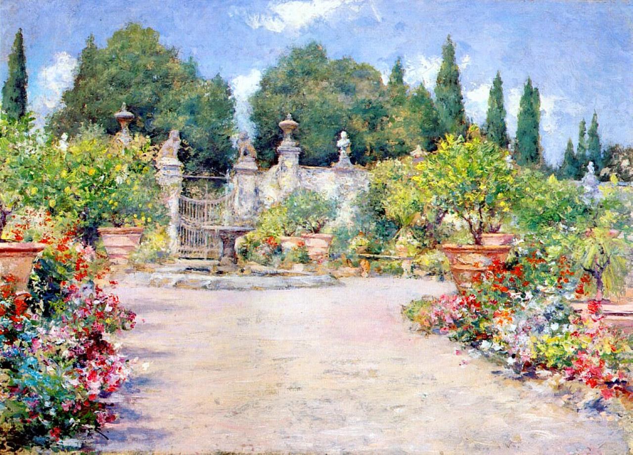 Italian Gardens Cafe Hyde Park