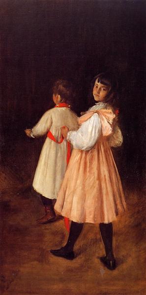 At Play, 1895 - William Merritt Chase