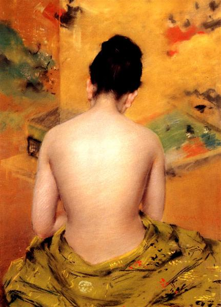 Back Of A Nude, 1888 - William Merritt Chase