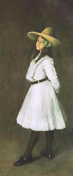 Dorothy, 1902 - William Merritt Chase