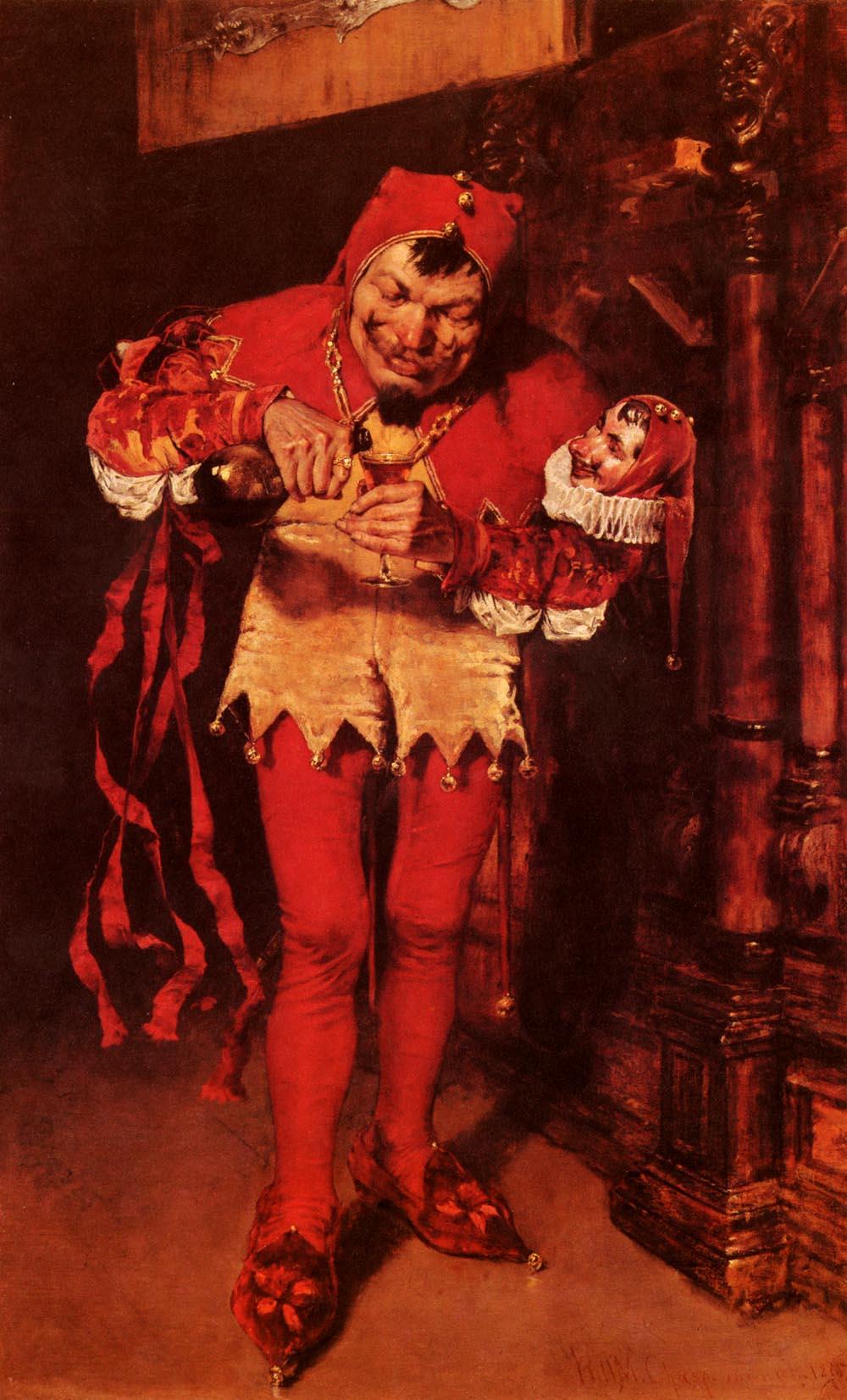 Court jester of jerk offs