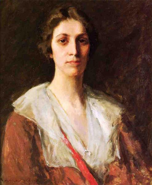 Miss Mary Margaret Sweeny, 1910 - William Merritt Chase