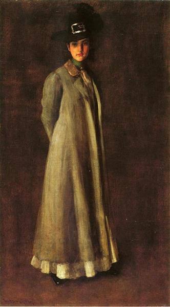My Daughter Dieudonne (Alice Dieudonne Chase), 1902 - William Merritt Chase