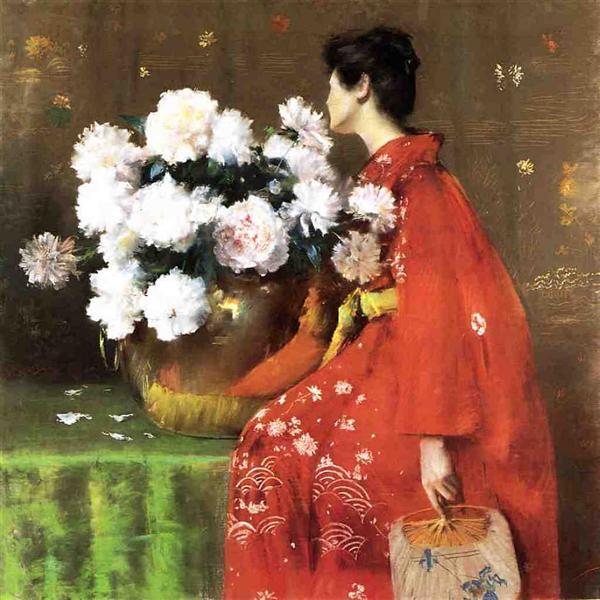 Peonies, 1897 - William Merritt Chase
