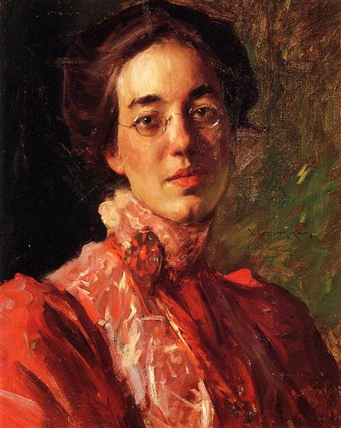 Portrait of Elizabeth (Betsy) Fisher, 1899 - William Merritt Chase