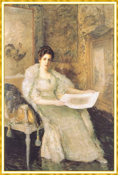 Portrait of Susan Watkins - William Merritt Chase