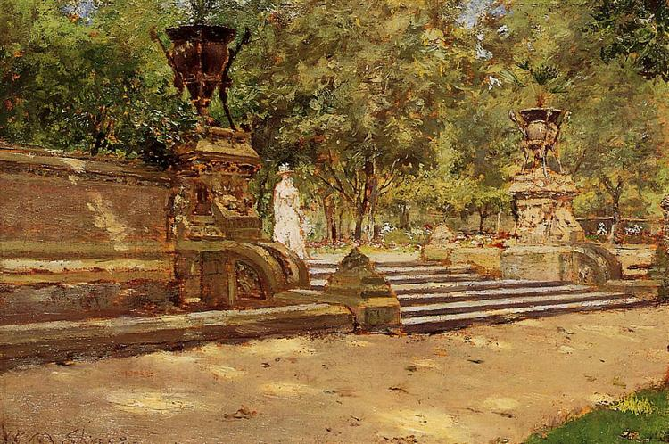 Prospect Park, Brooklyn 02, 1887 - William Merritt Chase