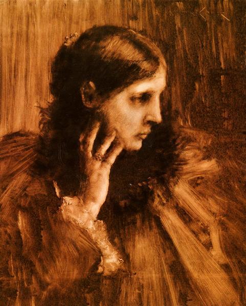 Reverie, 1890 - William Merritt Chase