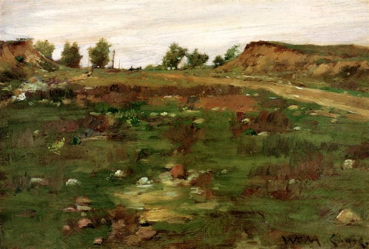 Shinnecock Hills, 1895 - William Merritt Chase