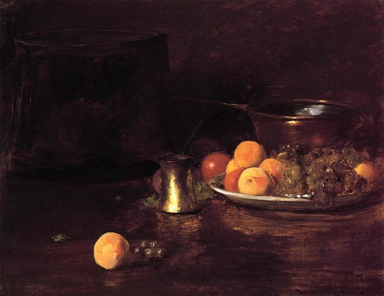 Still Life - Fruit - William Merritt Chase
