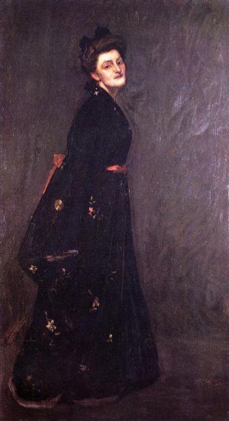 The Black Kimono, c.1903 - William Merritt Chase