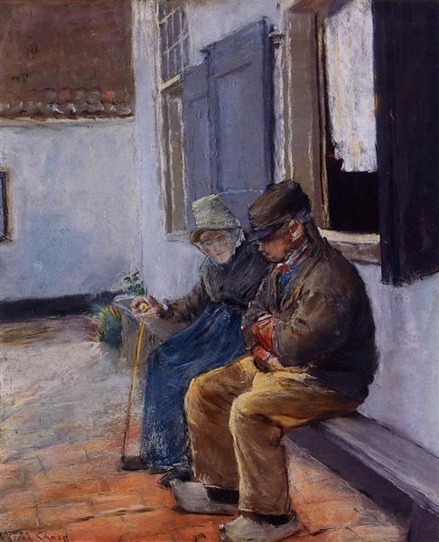 The Consultation, c.1880 - c.1883 - William Merritt Chase
