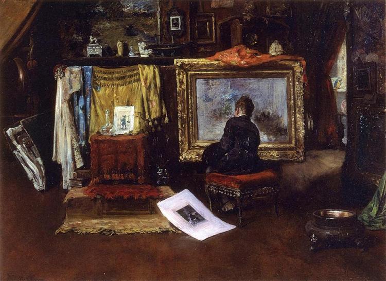 The Inner Studio, Tenth Street, 1882 - William Merritt Chase