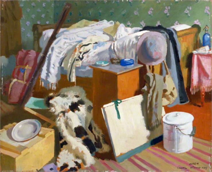 My Work Room, Cassel, 1917 - William Orpen