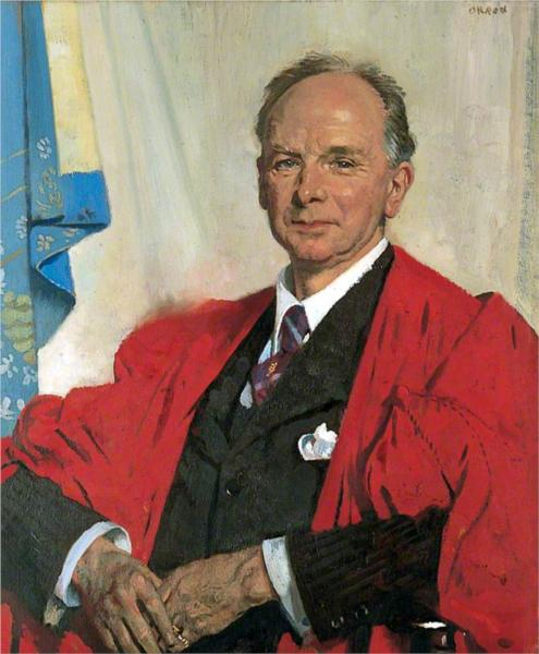 Professor Gregory Foster - William Orpen
