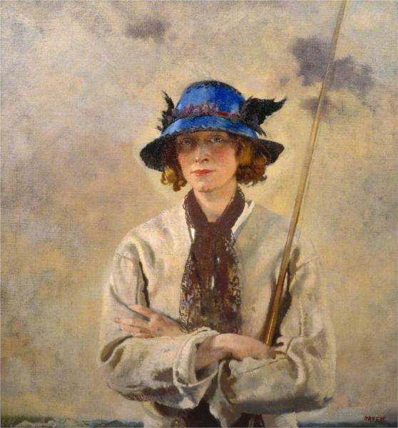 The Angler, 1912 - William Orpen