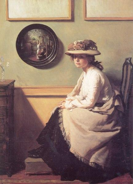 The Mirror - William Orpen