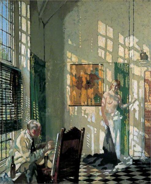 The Studio, 1910 - William Orpen