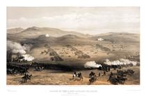 Charge of the Light Cavalry Brigade, 25th Oct. 1854, under Major General the Earl of Cardigan - William Simpson