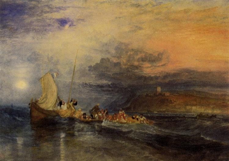 Folkestone from the Sea - J.M.W. Turner