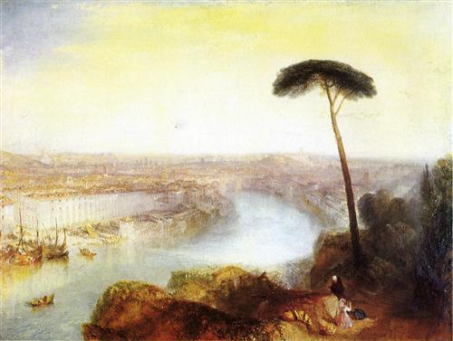 Rome from Mount Aventine - William Turner