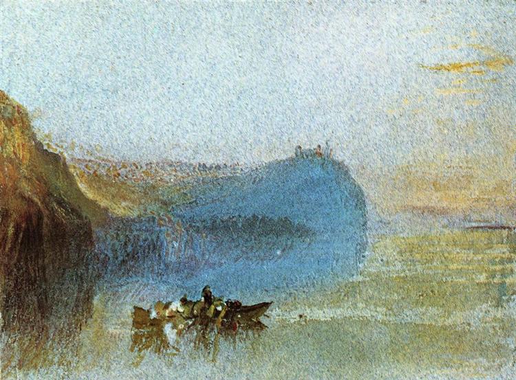 Scene on the Loire, 1826 - 1830 - J.M.W. Turner