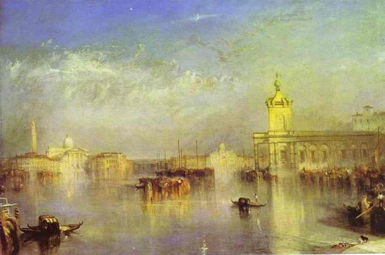 The Dogana, San Giorgio, Citella, From the Steps of the Europa, 1842 - J.M.W. Turner