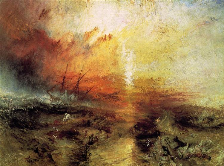 The Slave Ship, 1840 - William Turner