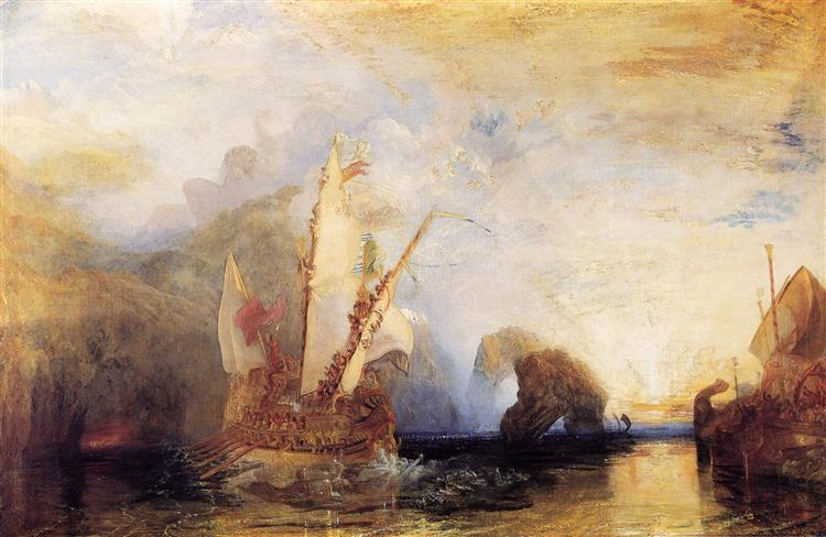 Ulysses Deriding Polyphemus - Turner William