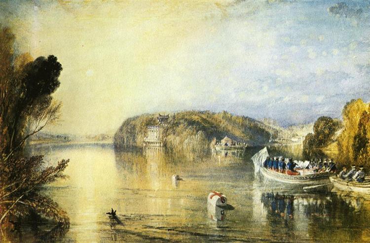 Virginia Water, c.1829 - J.M.W. Turner