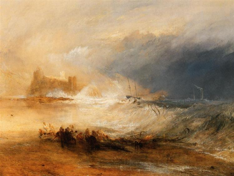 Wreckers Coast of Northumberland, c.1834 - Уильям Тёрнер