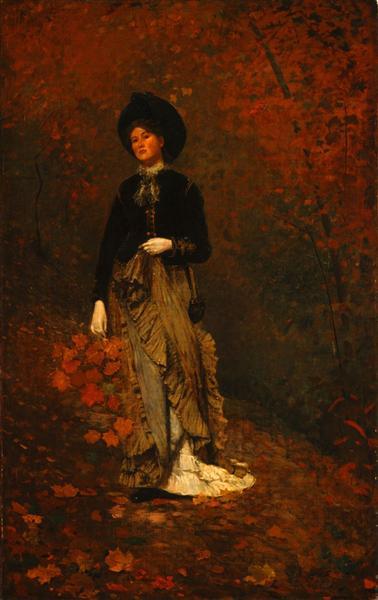 Autumn, 1877 - Winslow Homer