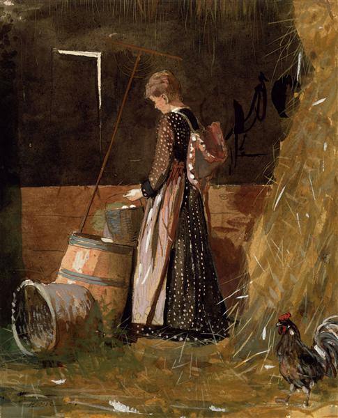 Fresh Eggs, 1874 - Winslow Homer