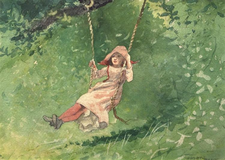 Girl on a Swing, 1897 - Winslow Homer