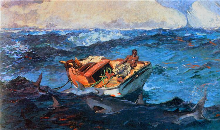 The Gulf Stream, 1906 - Winslow Homer