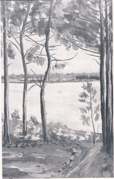 A View at Mimizan - Вінстон Черчилль