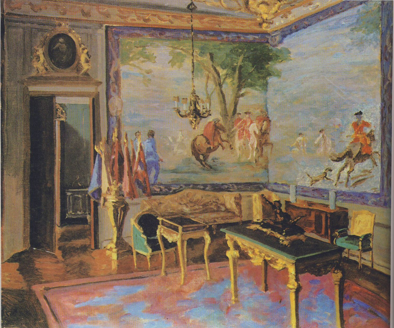 Artist Painted Winston Churchill