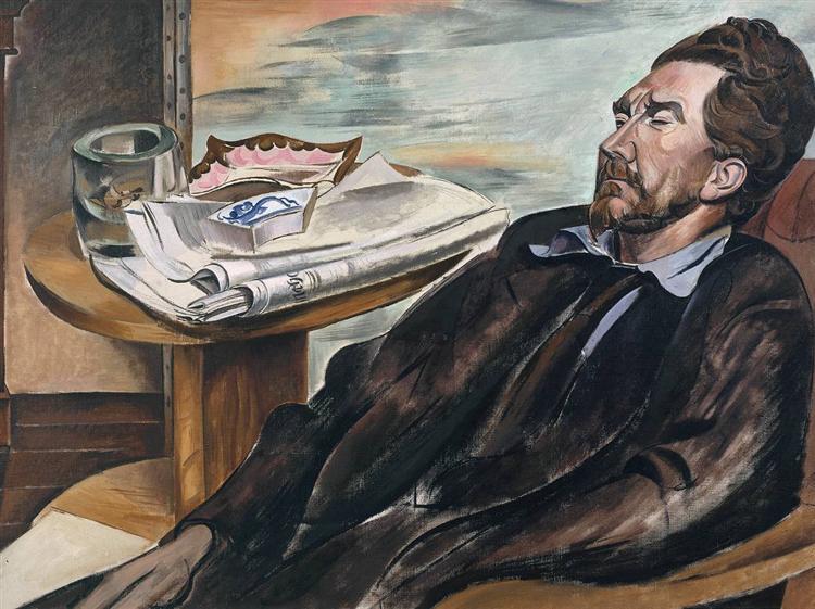 Ezra Pound, 1939 - Wyndham Lewis