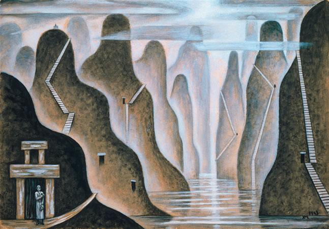 Fiordo, 1943 - Xul Solar