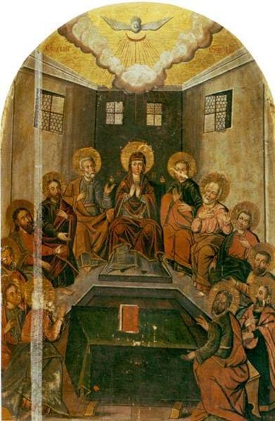 The Descent Of The Holy Spirit - Yov Kondzelevych