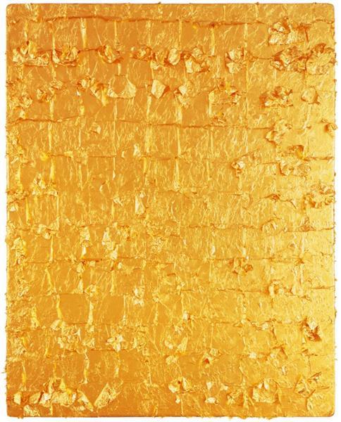 Gold Leaf on Panel, 1961 - Yves Klein