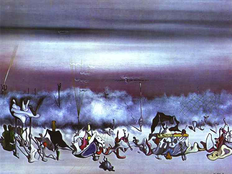 The Ribbon of Extremes, 1932 - Yves Tanguy