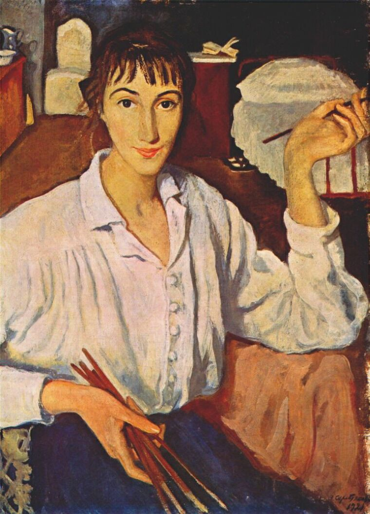 Self portraits by famous women artists