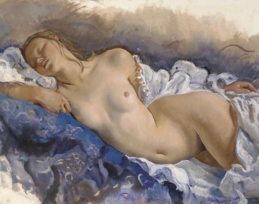 Sleeping nude, 1931 - Zinaida Serebriakova