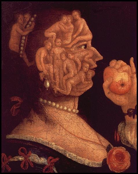 Portrait of Eve, 1578 - Giuseppe Arcimboldo