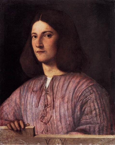 Portrait of young man (Giustiniani Portrait), 1504 - Giorgione