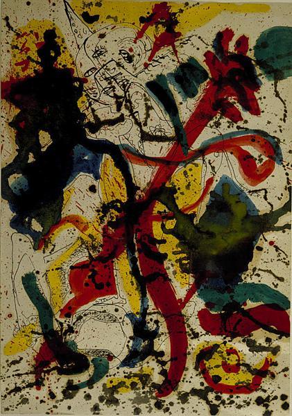 Untitled, 1942 - 1944 - Jackson Pollock
