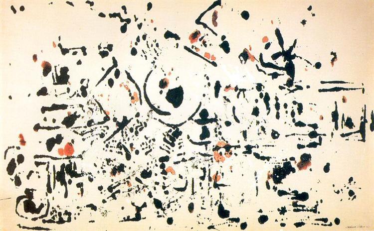 Untitled, 1951 - Jackson Pollock